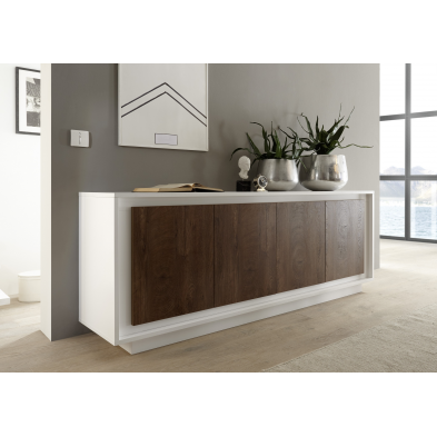 Dressoir design GEORGINA 207 cm 4 portes
