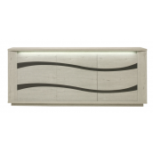 Bahut-buffet contemporain 230 cm DAVID