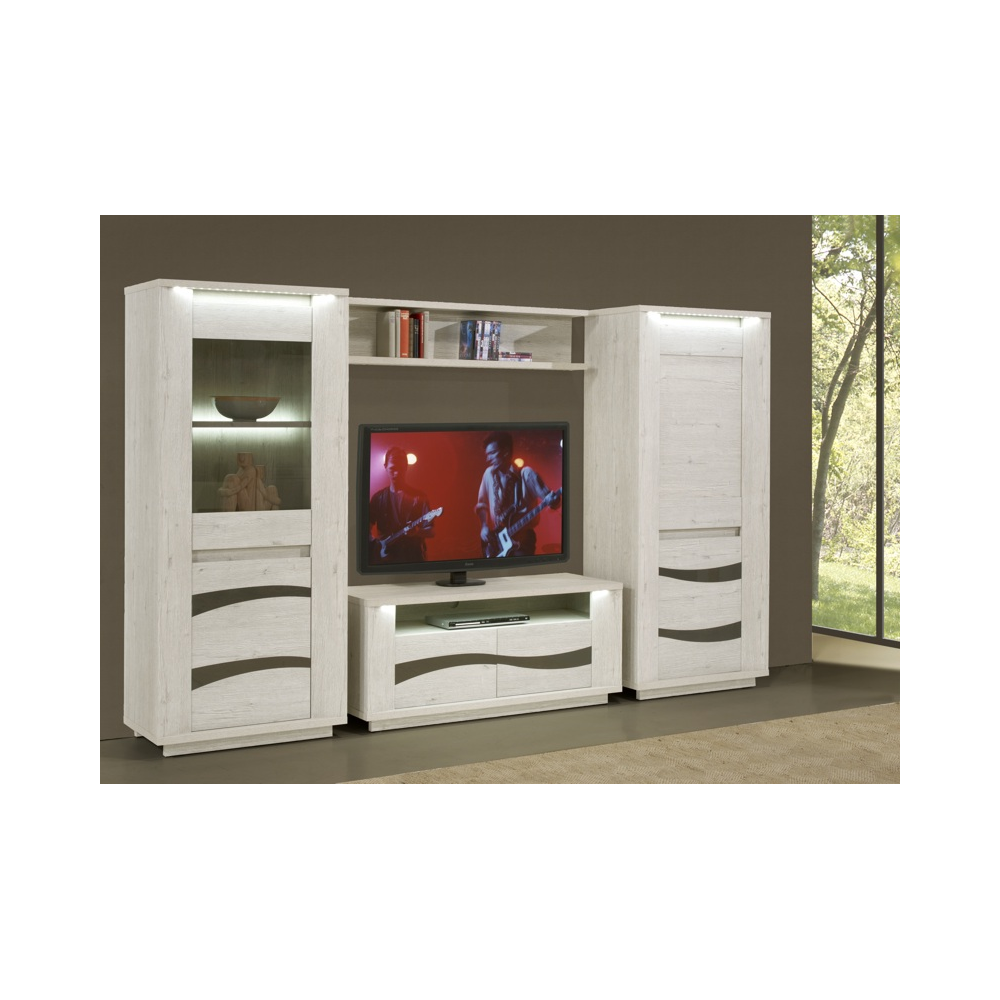 ensemble meuble tv 300 cm contemporain david