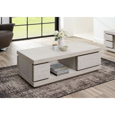 Table basse contemporaine 130 cm GWEN