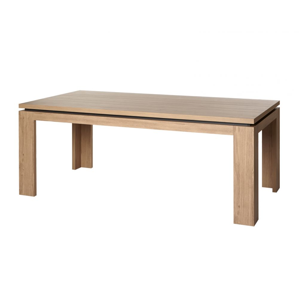 Table de salle manger contemporaine 200 cm robin for Table de salle a manger contemporaine