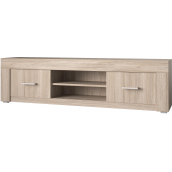Meuble TV 140 cm contemporain VASILI