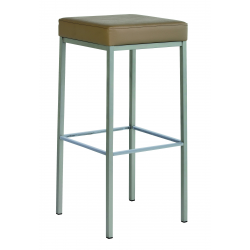 Tabouret de bar design QUADRA HT80