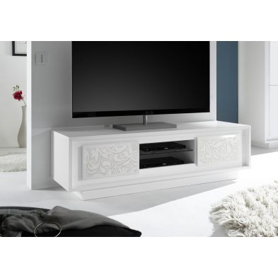 Meuble TV design SYLVIA L156 cm