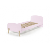 Lit enfant Chily 90 x 200 cm rose