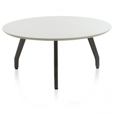 table d'appoint Jolly 65 x 65 cm - ivory