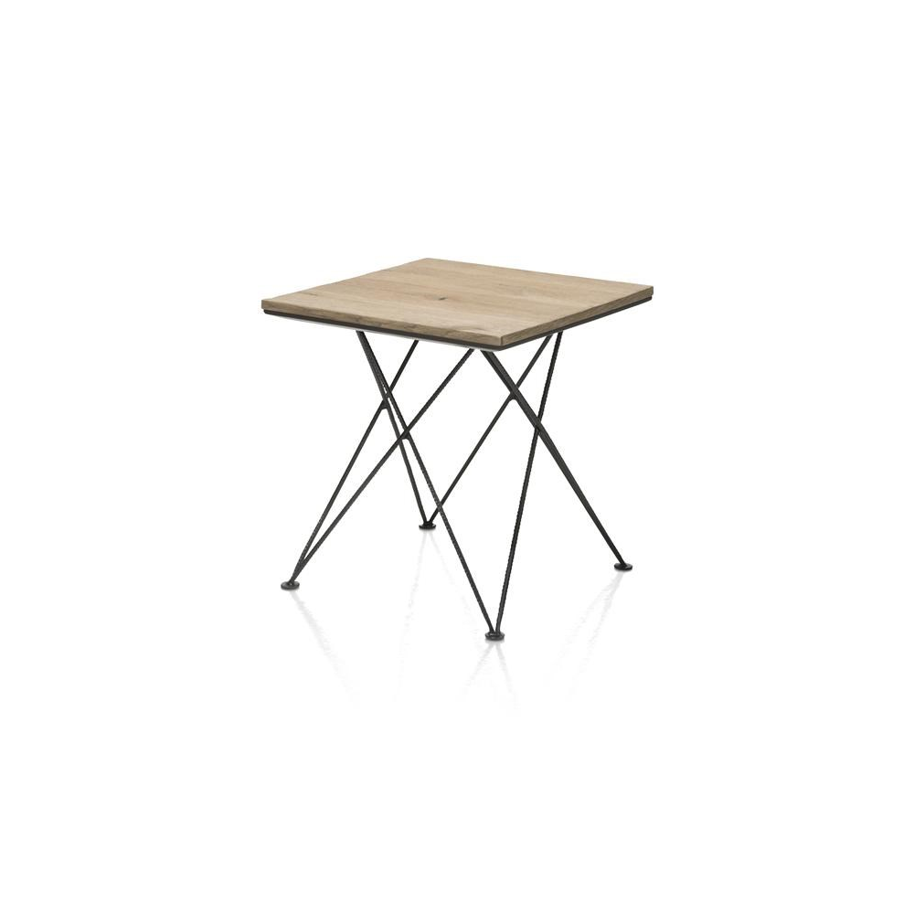 table d'appoint Gurgoan - 45 x 45 cm + 3D-optic