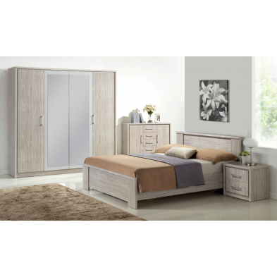 Chambre adulte compl te meubles thiry for Prix chambre complete adulte