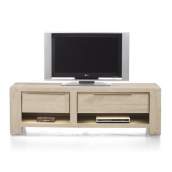 Meuble TV BUCKLEY 150 cm acacia massif H&H