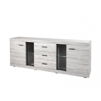 Buffet-Bahut contemporain 243 cm THOMAS