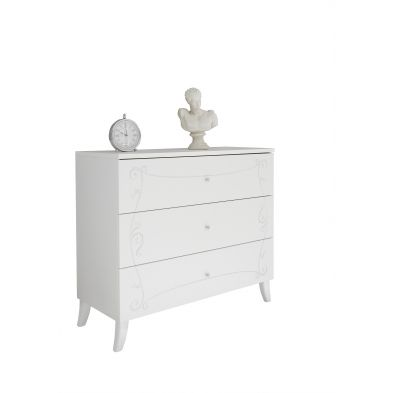 Commode 3 tiroirs SOLEIL