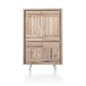 Armoire MORE I 100 cm chêne massif H&H