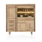 Highboard MORE 150 cm chêne massif MORE H&H
