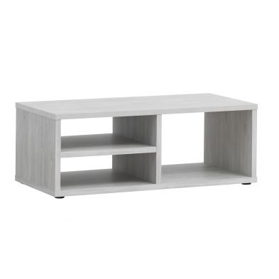 Table basse 120 cm DESIR avec 3 niches