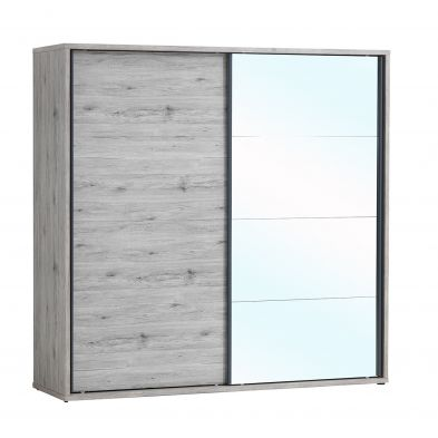 Armoire contemporaine 2 portes coulissantes TENTATION
