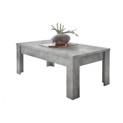 Table basse 122 cm DAMIEN BETON