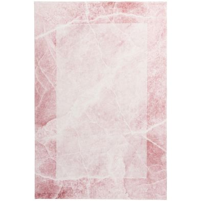Tapis moderne My Palazzo 270 Rose poudré - effet marbre
