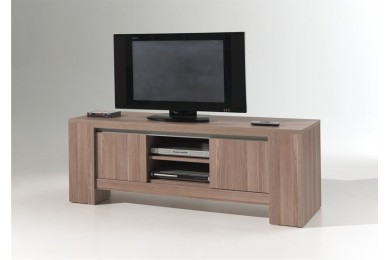 Meuble tv hifi vid o contemporain meubles thiry for Meuble tv yvan